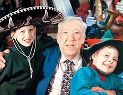 Юрий Никулин с внуками